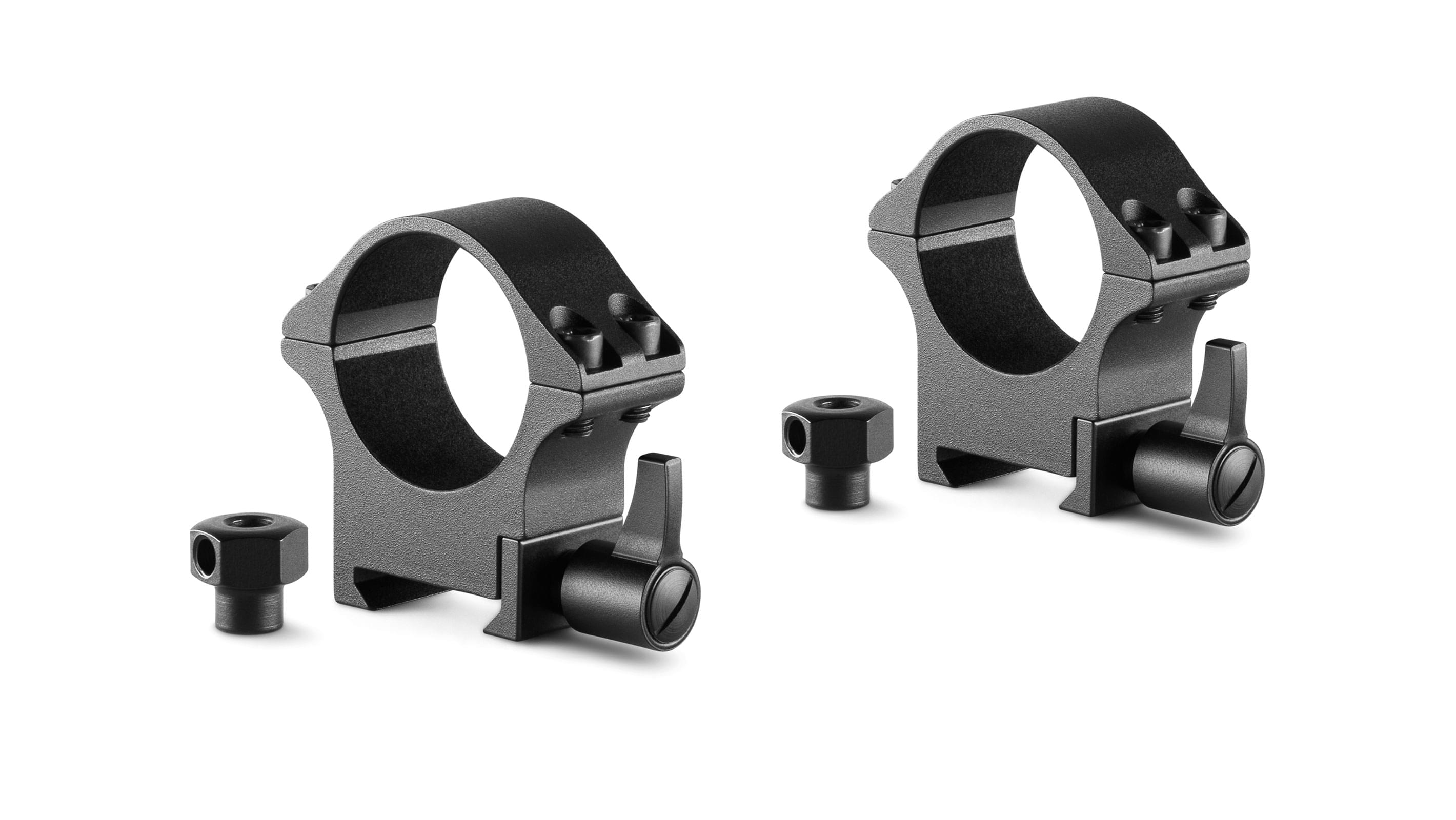 Professional Steel Ring Mounts 30mm 2 Piece  Weaver Medium