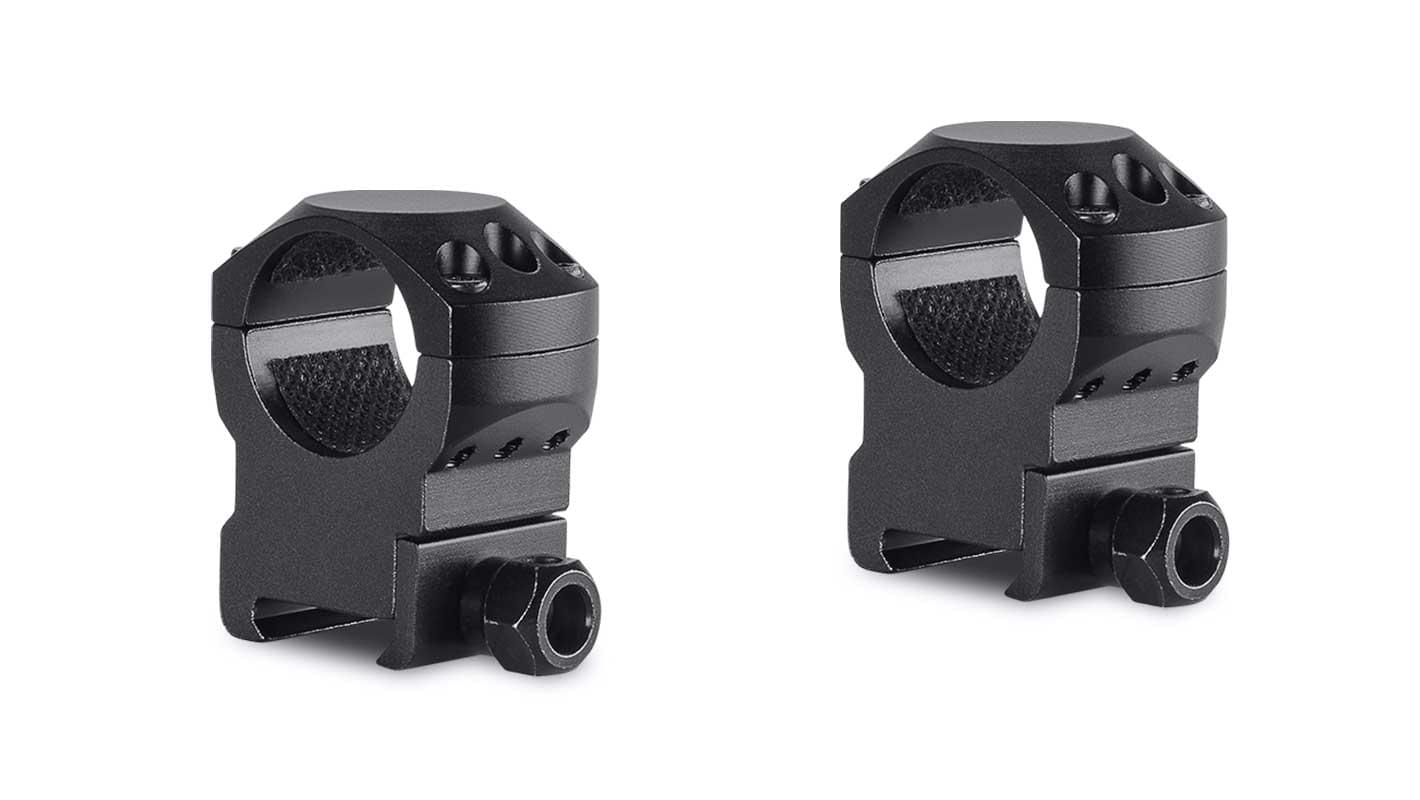 Tactical Ring Mounts 1'' 2 Piece  Weaver High